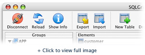 Toolbar tools